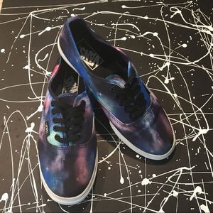 VANS off-the-wall Tie-dye sneakers
